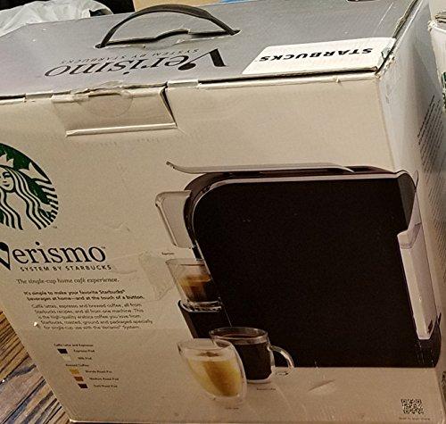 Starbucks Verismo Distinct-Cup Coffee and Espresso Maker 11023257, Black