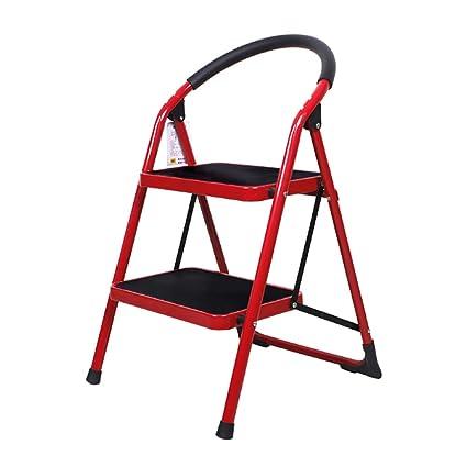 Pleasant Amazon Com Step Stools Folding Step Stool For Adult Red 2 Uwap Interior Chair Design Uwaporg