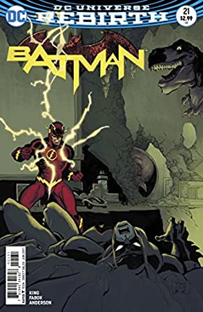 Batman (2016) #21 VF/NM Tim Sale Cover (The Button) Part One DC Universe Rebirth