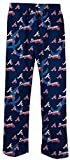 Atlanta Braves Blue Lights Out MLB Mens Pajama Pants by Concepts Sports