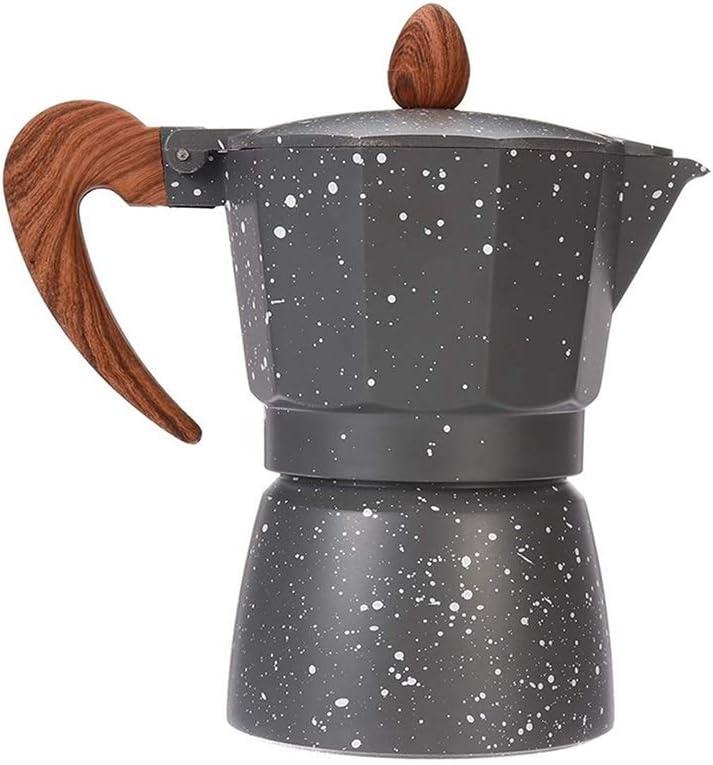LRHD Cocina de quemadores de Aluminio Cafetera 6 Copa (300ml ...