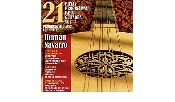 21 Piezas Progresivas para Guitarra, Vol. 2 de Hernán Navarro en ...