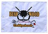 CaddyShack Embroidered Crossed Clubs Golf Pin Flag