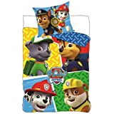 Paw Patrol Kids Pure Cotton Duvet Cover with Pillow,Twin (55 X 78 Inch)