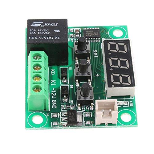 Sharplace XH-W1209 DC 12V NTC Thermostat Switch Plate High-Precision Módulo Control de Temperatura Digital Temperature Sensor: Amazon.es: Coche y moto