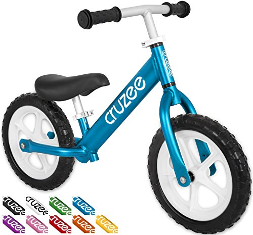 Cruzee UltraLite Balance Bike (4.4 lbs) for Ages 1.5 to 5 Years | Blue - Best Sport Push Bicycle for 2, 3 & 4 Year Old Boys & Girls- Toddlers & Kids Skip Tricycles on the Lightest First Bike 1