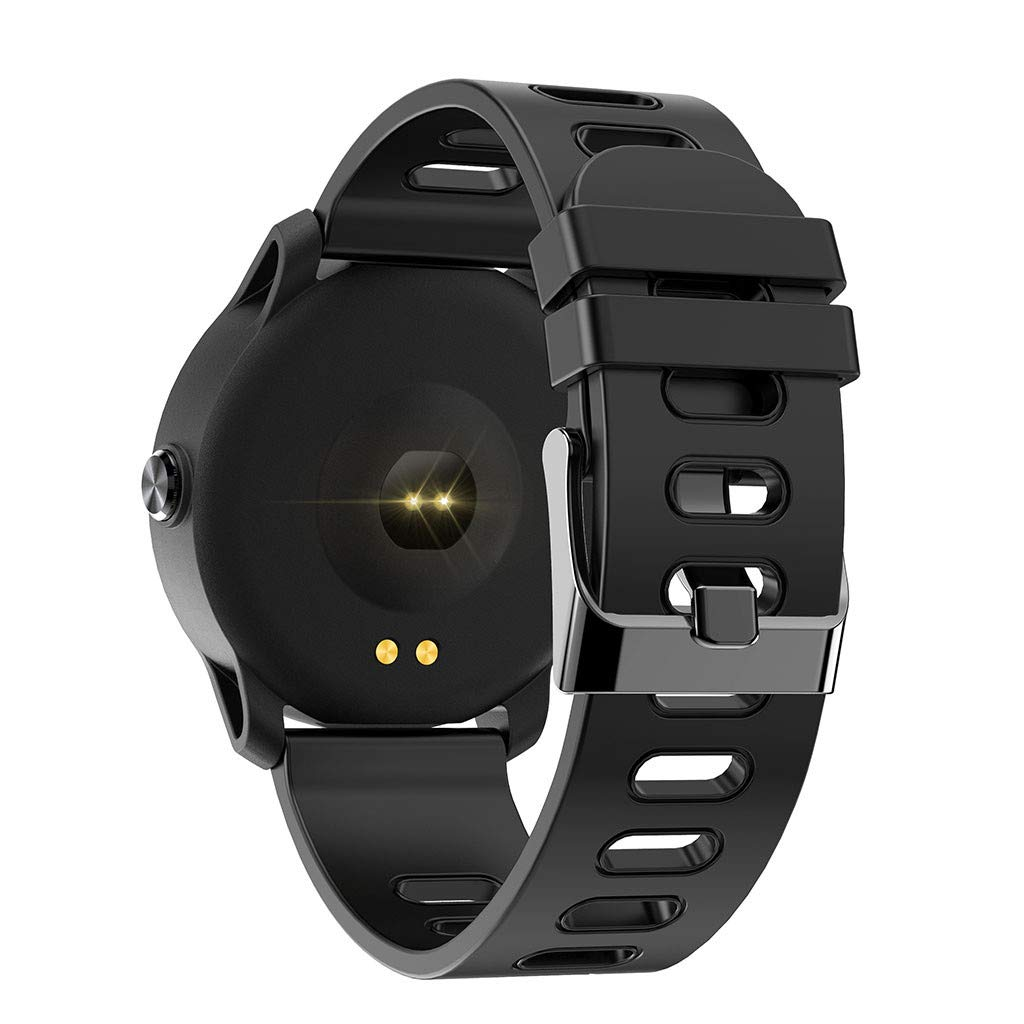 For Android & iOS, Waterproof Sport Smart Watch Fitness Heart Rate Tracker Blood Pressure Calorie Monitor Smart Bracelet (Black) by YNAA (Image #3)