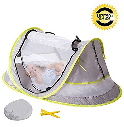 Baby Travel Bed Portable pop up Beach Tent Sun Shelter con 2pioli pieghevole neonato culla zanzariera Archers Outreach Services