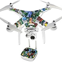 Skin For DJI Phantom 3 Professional – Backyard Gathering | MightySkins Protective, Durable, and Unique Vinyl Decal wrap cover | Easy To Apply, Remove, and Change Styles | Made in the USA