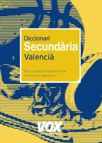 Descargar Libro Diccionari Secundària Valencià Aa.vv.