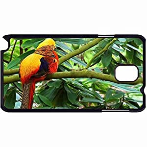 New Style Customized Back Cover Case For Samsung Galaxy Note 3 Hardshell Case, Back Cover Design Golden Pheasant Personalized Unique Case For Samsung Note 3