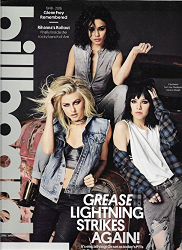 Julianne Hough, Vanessa Hudgens & Carly Rae Jepsen (Grease: Live!) l Esperanza Spalding l Scott Weiland (Stone Temple Pilots) Tribute l Glenn Frey (The Eagles) Tribute - February 6, 2016 Billboard