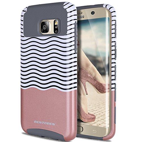 outlet store c6351 3ca54 S7 Edge Case, Galaxy S7 Edge Case, BENTOBEN Ultra Slim S7 Edge - Import It  All