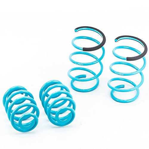 Godspeed LS-TS-BW-0006 Traction-S Performance Lowering Springs, Set of 4, BMW 3 Series 1999-2005(Does not fit Xi - Spring Lowering Series