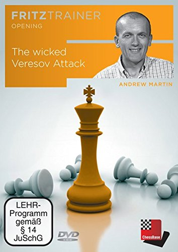 The wicked Veresov Attack - A tricky Opening with 1.d4: Fritztrainer - Interaktives Videoschachtraining mit Feedback