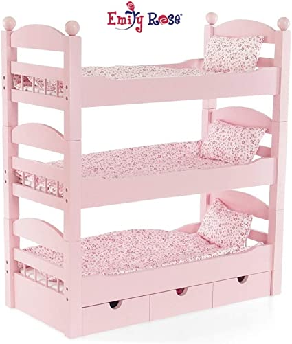 Amazon Com 18 Inch Doll Furniture For American Girl Doll Bunk Bed