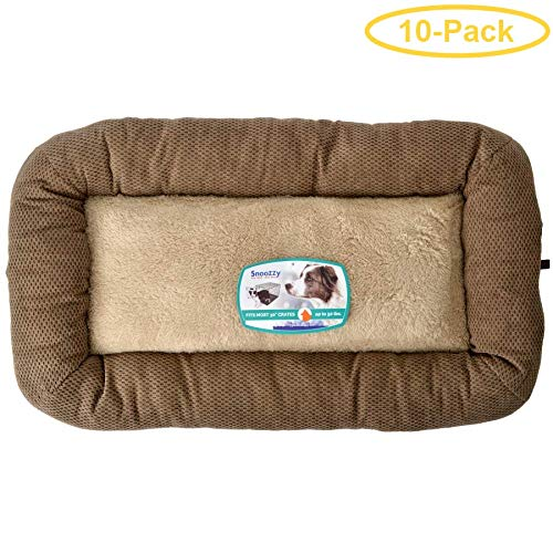 Precision Pet Mod Chic Bumper Bed - Coffee Model 3000-31'' Long x 21'' Wide - Pack of 10