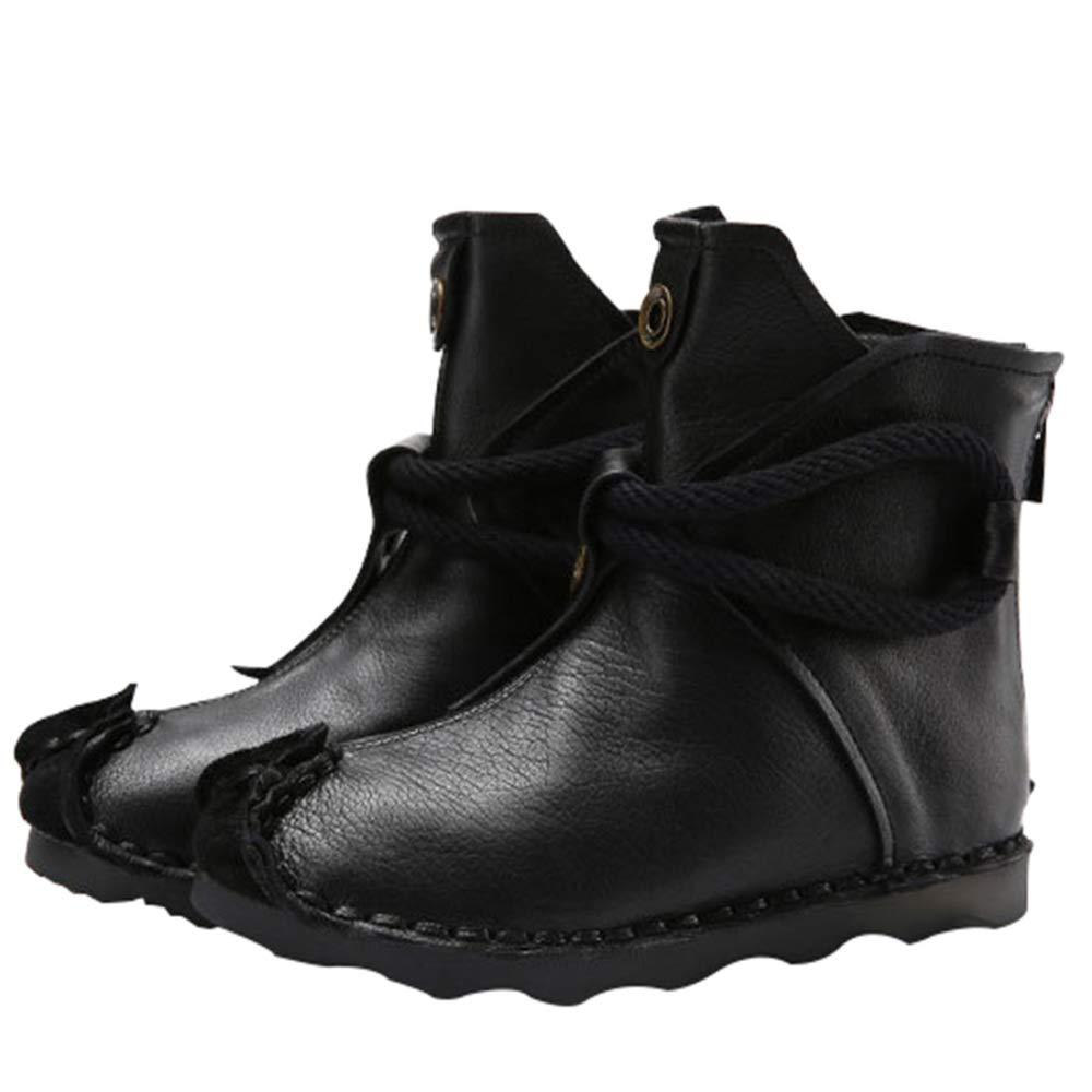 RSHENG Stivali Stivali Stivali Da Donna Scarpe Da Donna Calde Morbide E Morbide Con Fondo Morbido Da Donna Autunno E Inverno 033322