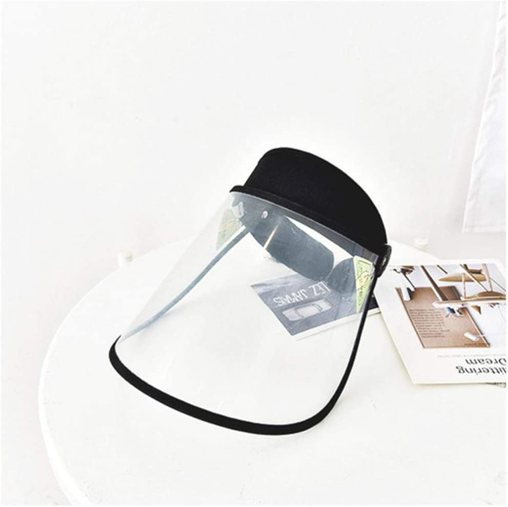Garneck Face Shield Chemical Face Cover Clear Protective Face Guard Anti Spitting Anti Oil Splash Face Visor for Kids Kitchen Outdoor Supplies