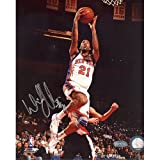 Steiner Sports NBA New York Knicks Wilson Chandler Home Lay Up 8 x 10-inch Photo