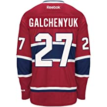 Alex Galchenyuk Montreal Canadiens Reebok Premier Replica Home NHL Hockey Jersey - Size Medium
