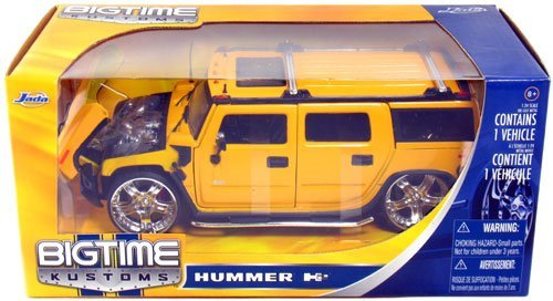 (Hummer H2 SUV 1:24 Scale)