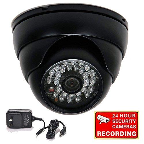 VideoSecu Dome Security Camera 700TVL Built-in 1/3
