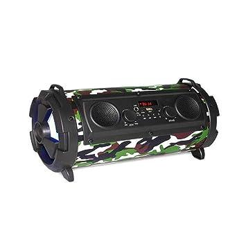 Altavoz Bluetooth Multifuncional Radio Portátil 15W ...