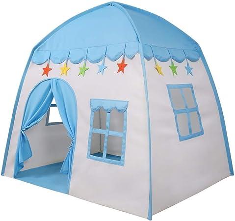 HLWAWA Tienda de campaña para niños Tienda de Juegos para niños Juguete de Playhouse como Regalo para niños y niñas Juego en Interiores y Exteriores: Amazon.es: Hogar