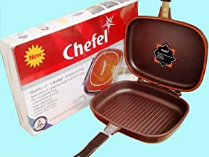 "11.5"" Chefel Double Sided Pressure Pan"
