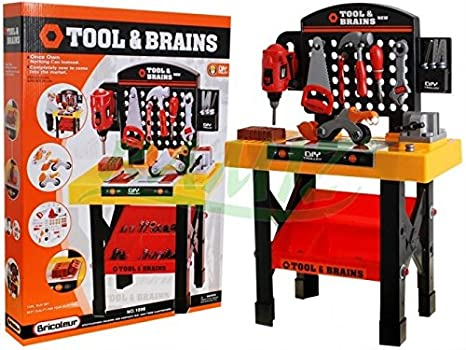 Banco Da Lavoro Giocattolo Black Decker : Grande banco da lavoro per bambini con attrezzi amazon giochi
