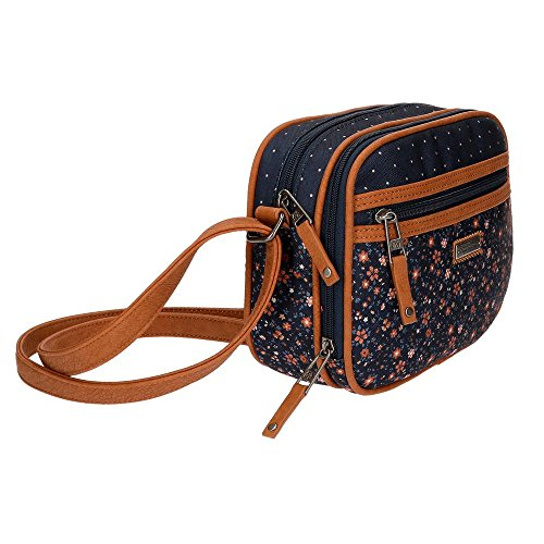 Nancy Borsa Messenger, 23 cm, 3.13 liters, Blu (Azul)