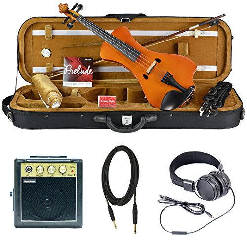 Bunnel NEXT Electric Violin Outfit Marigold Amp Included by Kennedy Violins