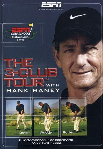 Hank Haney: ESPN Golf Schools - The 3-Club Tour