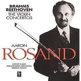 Beethoven: Violin Concerto in D / Brahms: Violin Concerto in D / Aaron Rosand