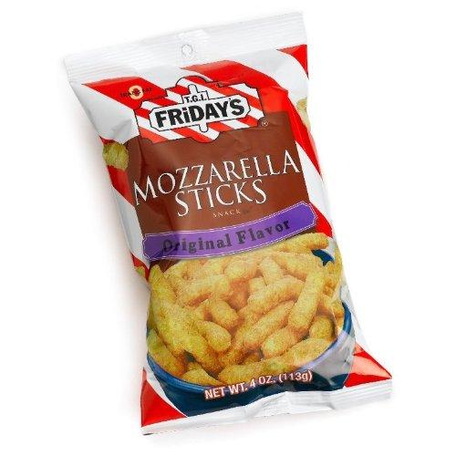 TGI Fridays Mozzarella Snack Sticks, 2.25-Ounces (Pack of 6)