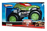: Hot Wheels Monster Jam 1:24 Scale Die Cast Official Monster Truck 2010 Series - GUNSLINGER with Monster Tires, Working Suspension and 4 Wheel Steering