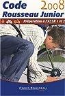 Code Rousseau Junior : Préparation à l'ASSR 1 et 2 (5e/3e) par Rousseau