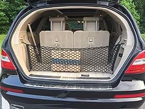 Envelope trunk cargo net for mercedes benz r class r350 for Mercedes benz cargo net