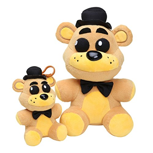 Microplush Five Nights at Freddy's Toys Golden Freddy Plush set of 2, 5