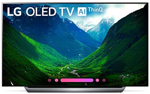 LG Electronics OLED77C8PUA 77-Inch 4K Ultra HD Smart OLED TV (2018 Model) (Renewed)