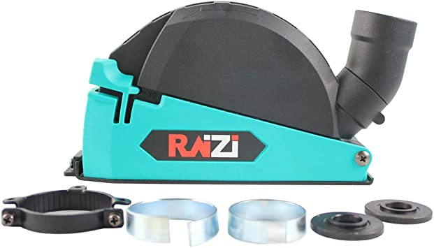 "Raizi 5/"" Angle Grinder Cutting Dust Collection Attachment Cutting Dust Shroud"