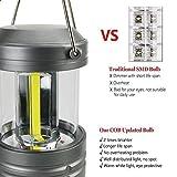 Hausbell 2 Pack Portable Camping Lantern Magnetic Base, cob...