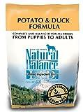 Natural Balance Potato and Duck Formula Dog Food, 5-Pound Bag, My Pet Supplies