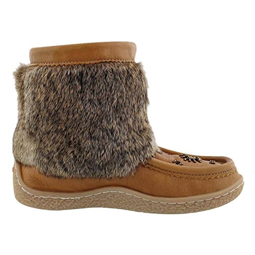 Women's Mukluk SoftMoc Mini Rabbit Fur Beaded 6xwnYwd