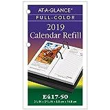 at-A-Glance Desk Calendar Refill 2019, 3-1/2 x 6, Photographic (E41750)