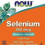 Now Selenium 200 mcg, 300 Veg Capsules