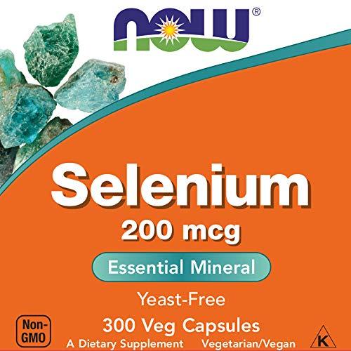 Now Selenium 200 mcg, 300 Veg Capsules ()