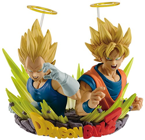 Dragon Ball Z Statues - Banpresto Dragon Ball Z Com: Figuration Volume 2 Son Goku and Vegeta Action Figure