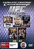 UFC 38-42 DVD Box Set 38 39 40 41 42 Ultimate Fighting Championship Vol 38-42